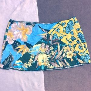 Lucky Brand Swim Coverup Skirt, size M/L